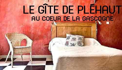 location saisonni re gers le g te de pl haut. Black Bedroom Furniture Sets. Home Design Ideas